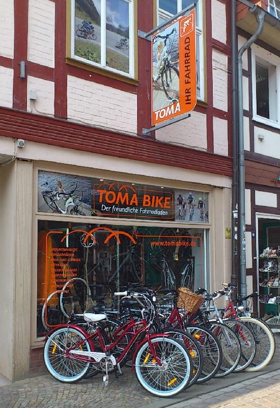 Tomabike Fahrradladen Salzwedel