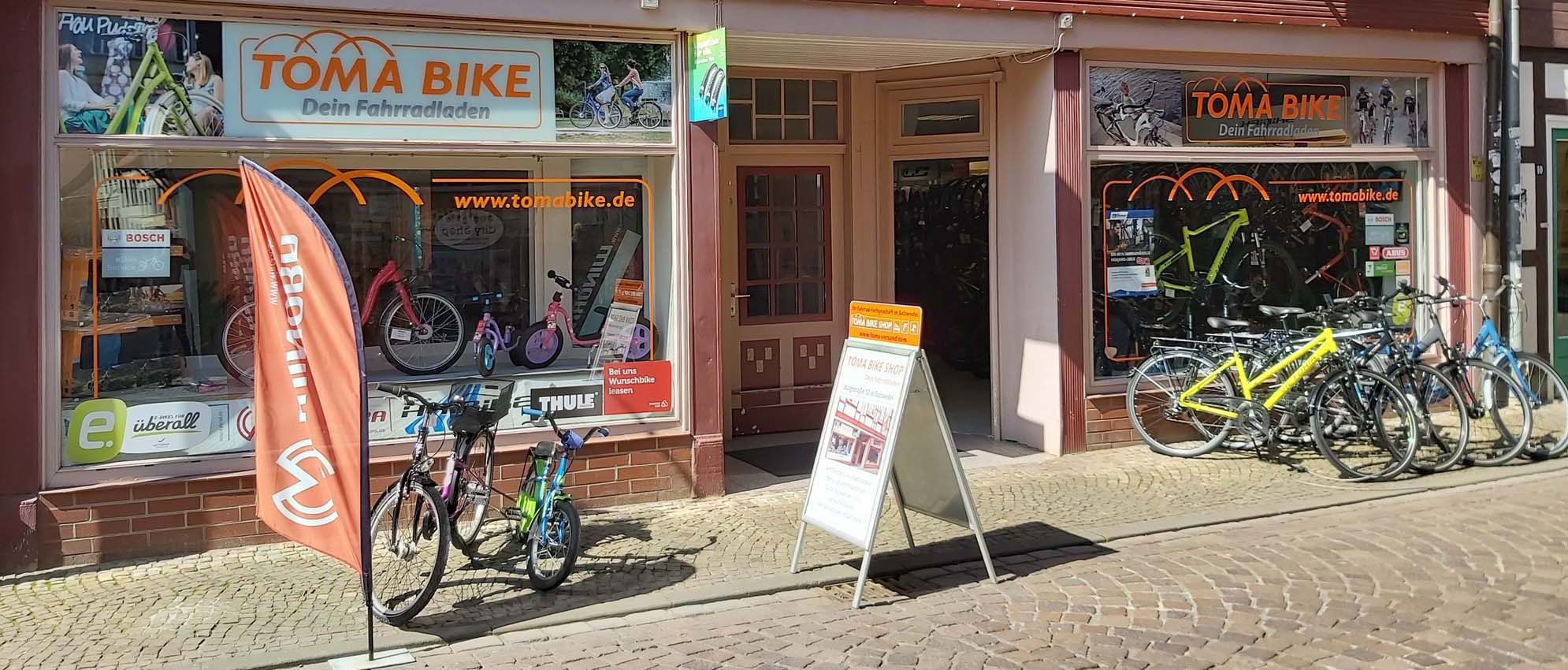 Tomabike Fahrradladen in Salzwedel